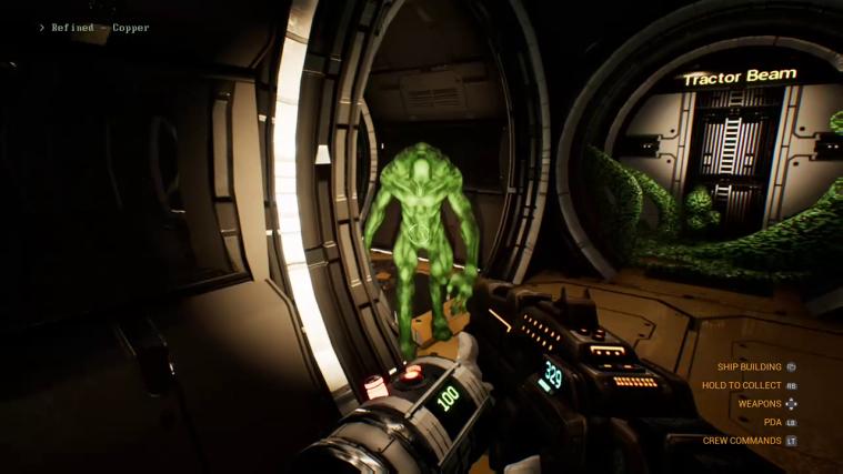 genesis alpha one alien infest