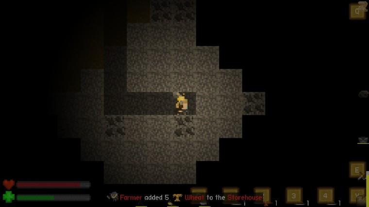 Aground mines