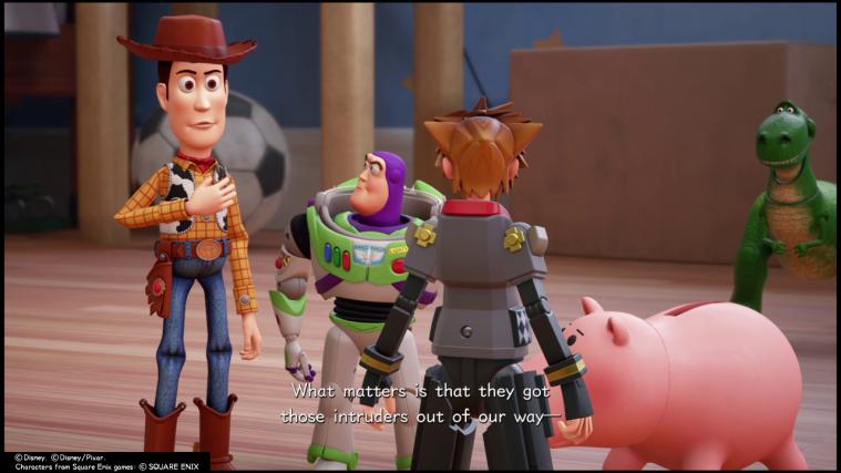 Kingdom hearts toy story