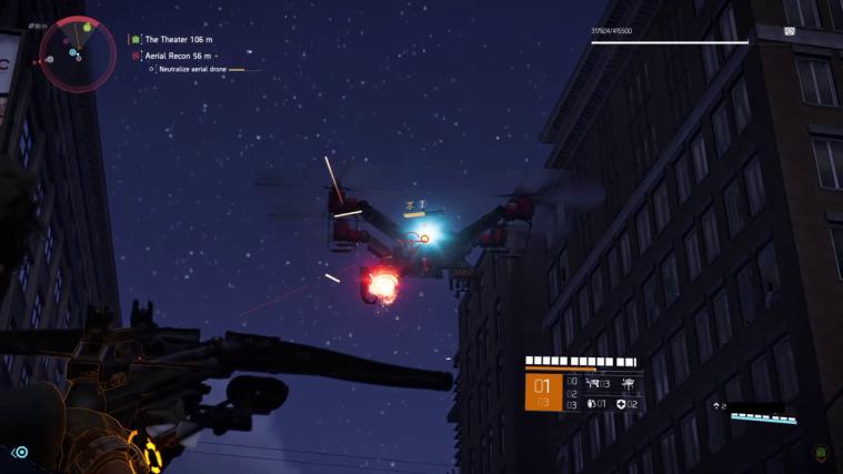 Td2 massive drone