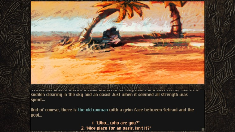 Aeons of sand story 2