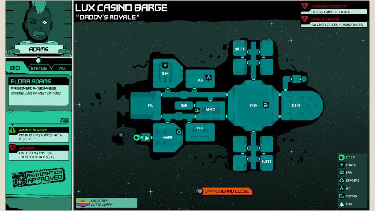 Void bastards map